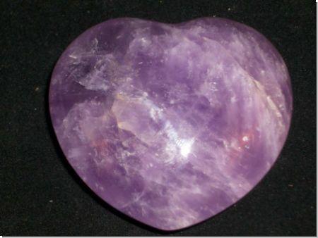 Amethyst Herzform